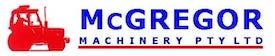 McGregor Machinery Wangaratta Logo